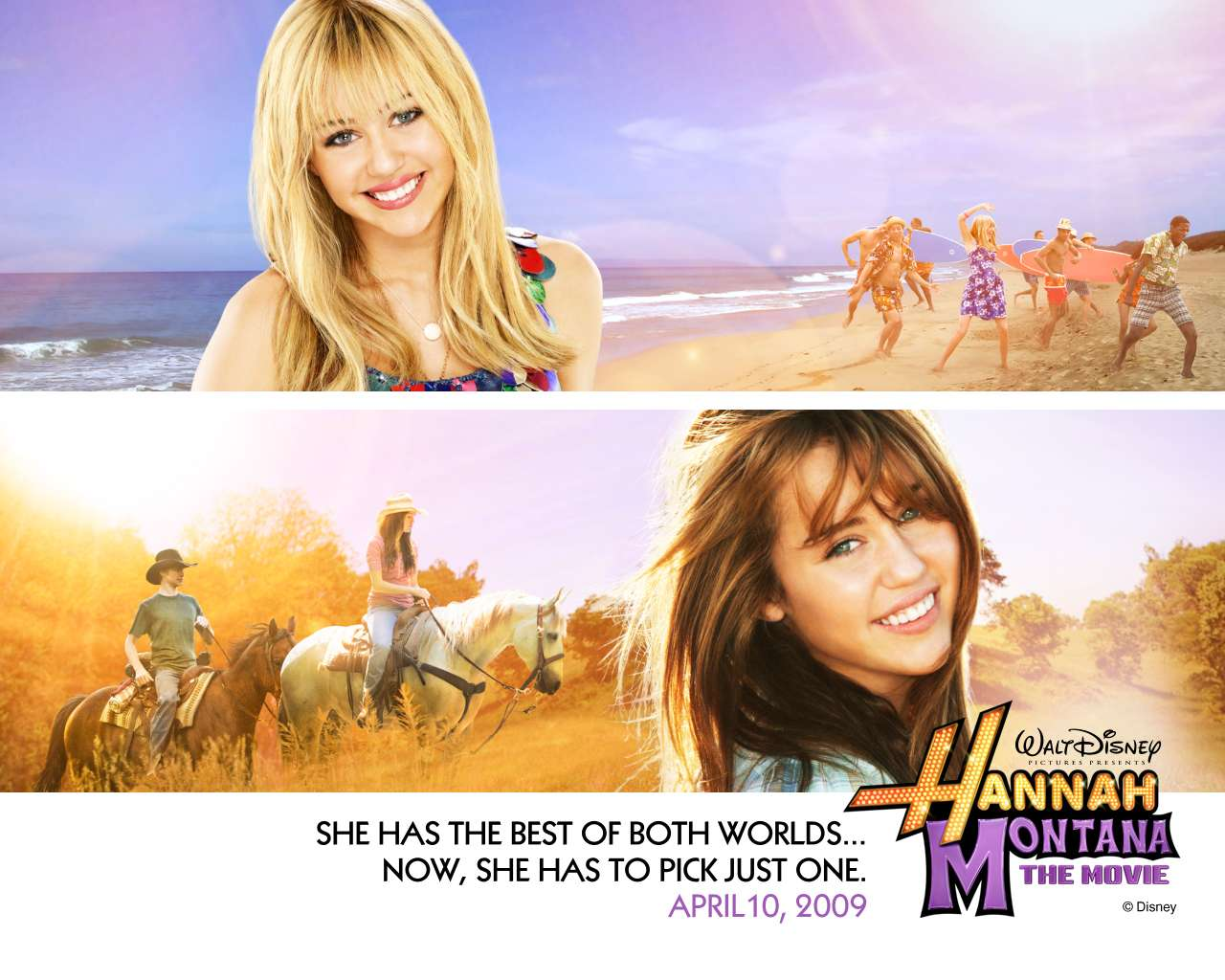 2009 hannah montana the movie wallpaper 001 Pop it, lock it, polka dot it